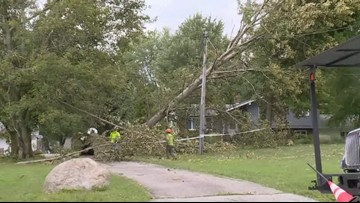 Storms move through Northeast Ohio, leaving thousands without power
