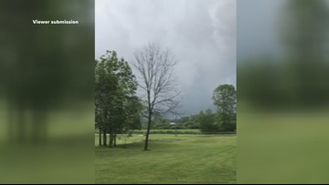 Viewer video shows possible tornado in Geauga County