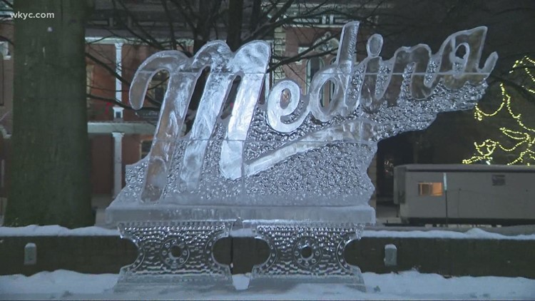 Annual Medina Ice Festival to take place this weekend amid ongoing pandemic