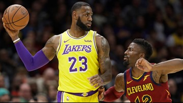 LeBron James favored to remain with Lakers, Cavaliers given 10-1 odds as trade destination