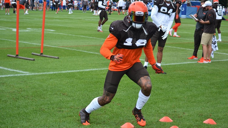 Odell Beckham Jr. Cleveland Browns joint practice with Indianapolis Colts August 14, 2019