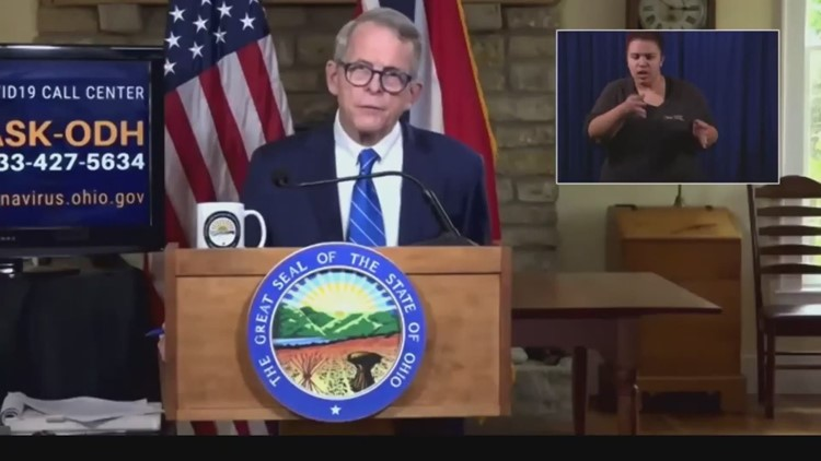 Gov Mike Dewine Holds Ohio Covid 19 Briefing Wkyc Com