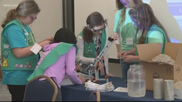 Girls in STEM   Girl Scouts add science-related badges