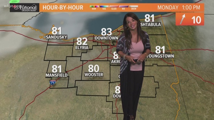 Morning weather forecast for Northeast Ohio: August 12, 2019