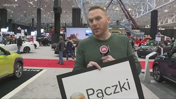 Mike Polk Jr. challenges people to correctly pronounce the popular polish treat eaten on Fat Tuesday