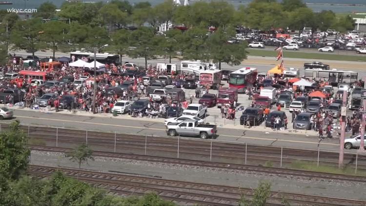 Muni Lot brawl goes viral after Cleveland Browns' home opener