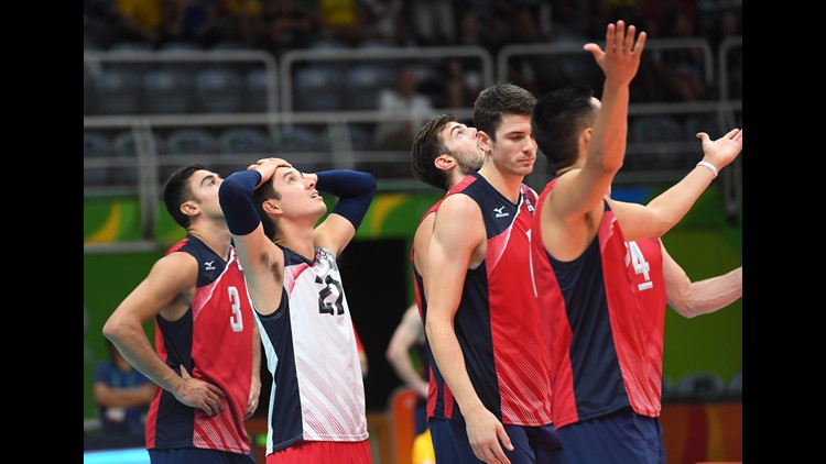 Team USA loses to Italy in Men's Volleyball semi-final | wkyc com