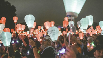 'Light The Night Walk' honors and remembers those whose lives are touched by blood cancers