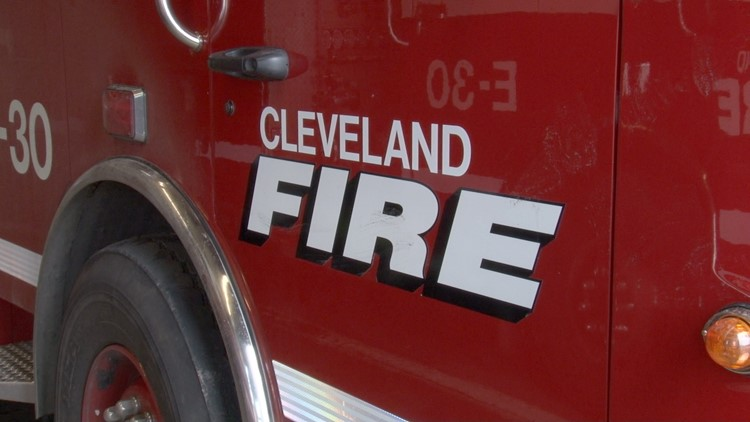 Three children treated for injuries following overnight Cleveland house fire