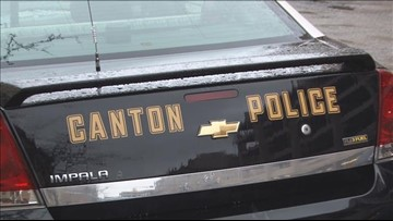 2 Canton police cruisers collide with each other while responding to call of 'shots fired'