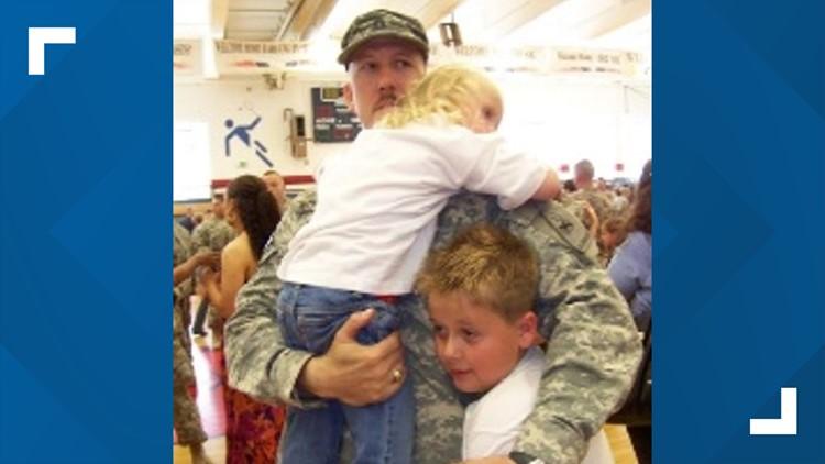 Bobby Wornstaff with kids