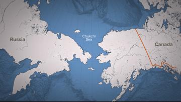 Arctic in hot water: Sea ice minimal in Chukchi, Bering seas
