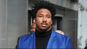 Video: Cleveland Browns' Myles Garret arrives at Hopkins Airport following appeal hearing