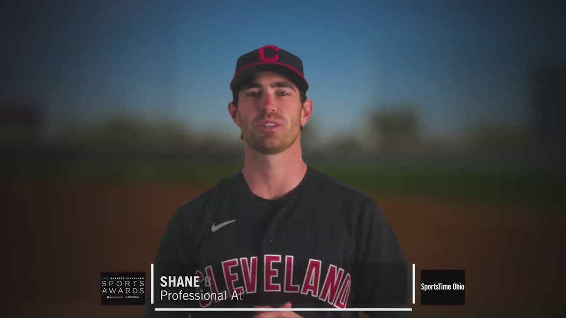 Indians' Shane Bieber wins Professional Athlete of the Year at the Greater Cleveland Sports Awards