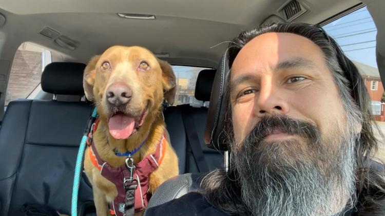 Homeward Bound: Tennessee man reunites in Cleveland with dog that had been missing for 4 years
