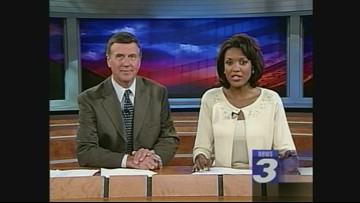 Throwback Thursday: Tim White and Romona Robinson anchor Channel 3 News