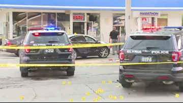 Lorain County Sheriff's Office: Gun found in car after Elyria officers shoot suspect at gas station