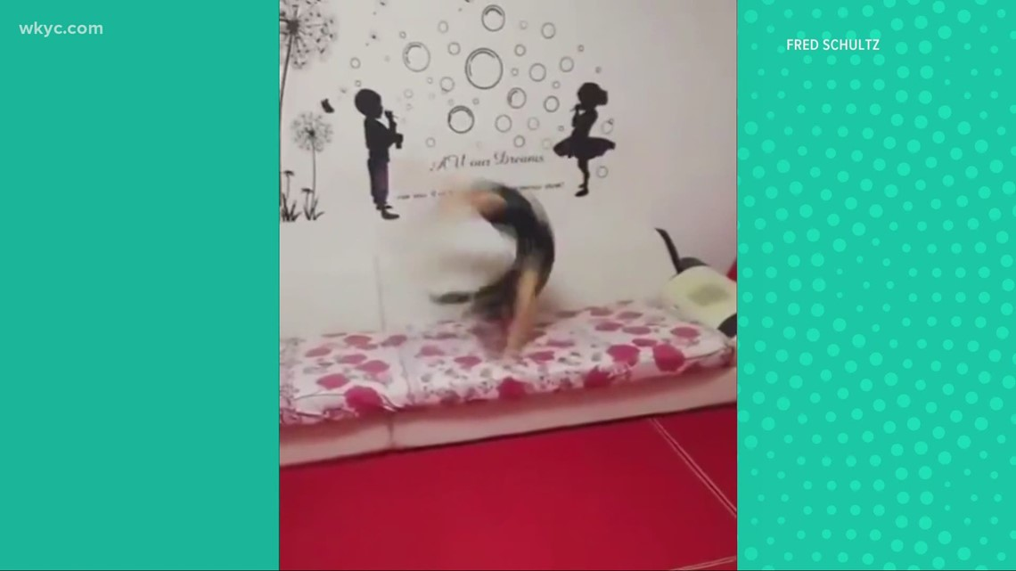 Check this out! Girl does 82 back handsprings in today's Worth the Watch