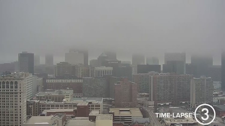 Saturday Cleveland weather time-lapse for January 2, 2021