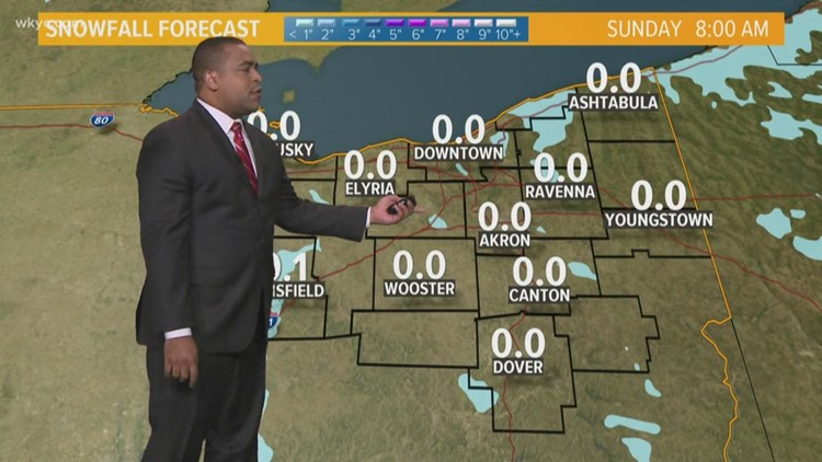 FORECAST | Lake Effect Snow Showers Possible Today