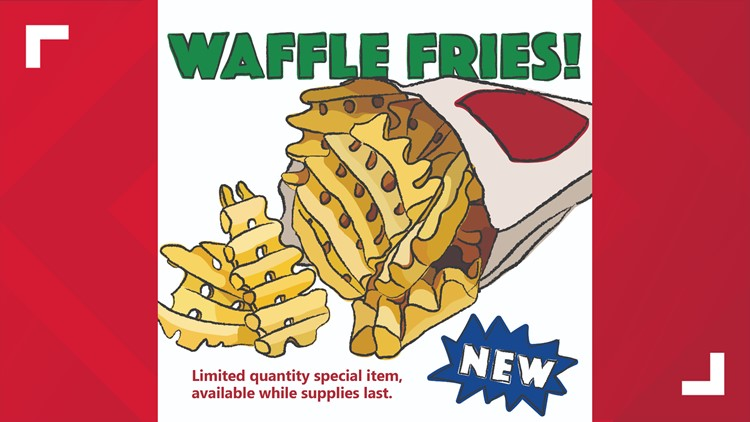 Swensons selling waffle fries for first time ever