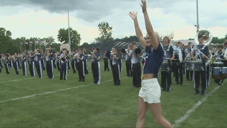 'Welcome home' celebration for gold medal Olympian Katie Nageotte held in Olmsted Falls