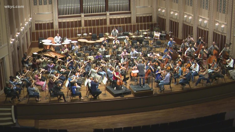 Cleveland Orchestra holds first public concert at Severance Music Center since March 2020