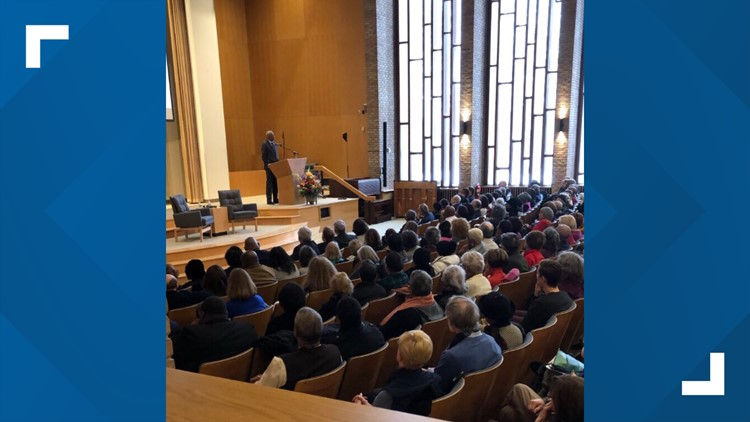 Civil rights icon urges Clevelanders to continue to push toward Dr. Martin Luther King's dream