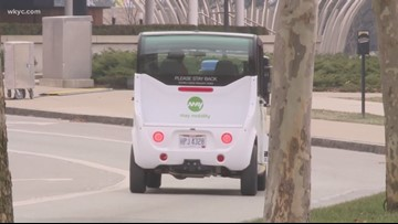 Self-driving shuttle hits streets of Columbus