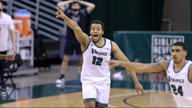 Cleveland State forward Al Eichelberger re-lives improbable 3-pointer that helped Vikings advance in Horizon League Tournament, talks March Madness