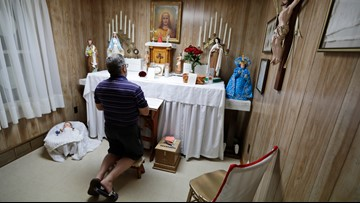 'Miracle house' in Canton draws pilgrims amid sainthood push