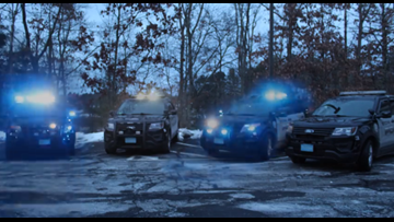 WATCH | Police cruisers put on holiday light show set to Trans-Siberian Orchestra