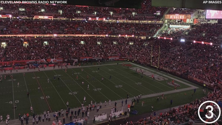 Back on track: Cleveland Browns get much-needed 17-14 win over Denver Broncos on 'Thursday Night Football'