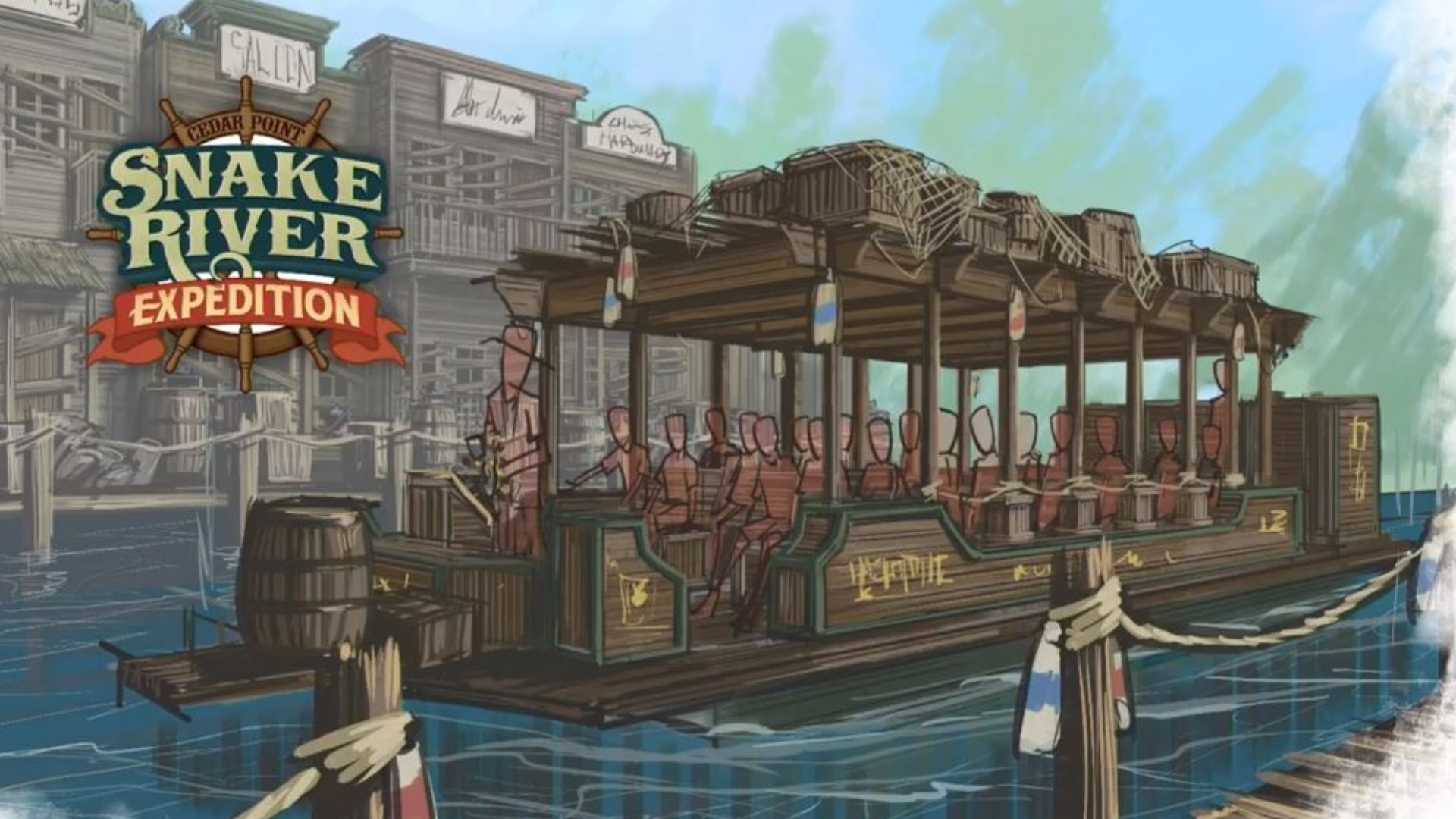 Cedar Point announces Snake River Expedition as new 2020 ride