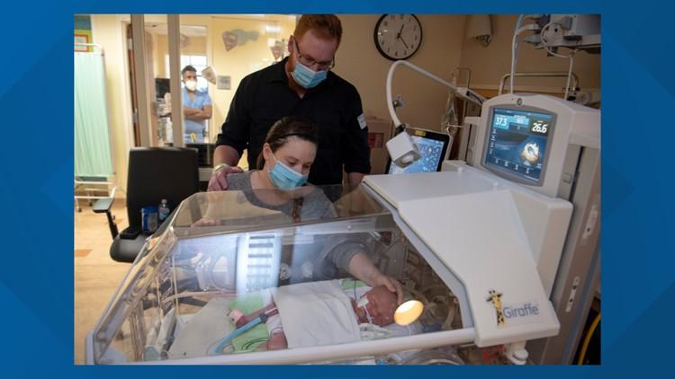 Miracle Maverick: An incredible surgery to save a baby's life