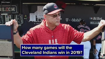 Cleveland Indians' over-under win total for 2019 season revealed