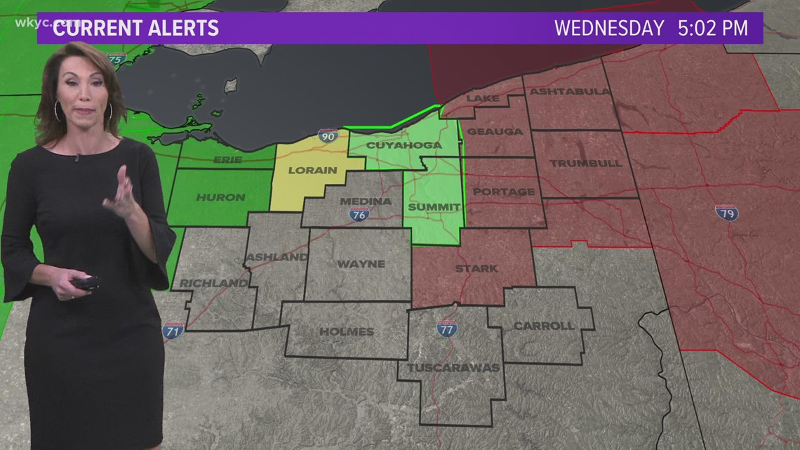 Tornado watch still in effect for multiple Northeast Ohio counties