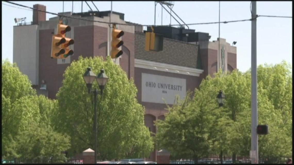 Ohio University police report vandalism to sorority, fraternity houses