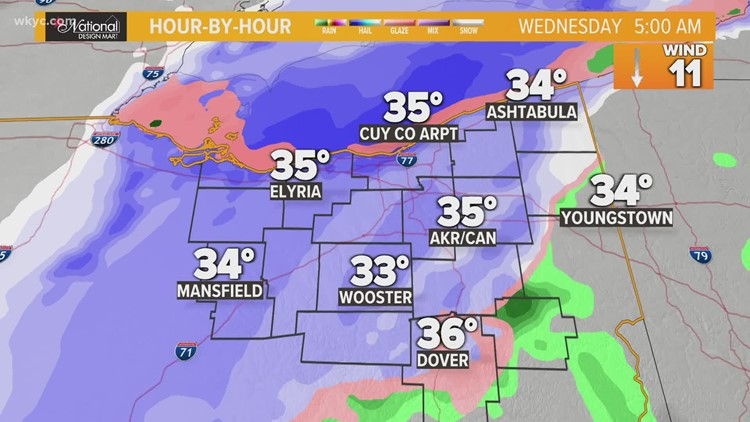 Morning weather forecast for Northeast Ohio: April 20, 2021