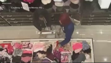 WANTED: Police searching for women who stole 1,000 panties from Mentor store