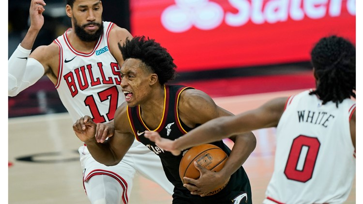 Collin Sexton scores 30 points, Cleveland Cavaliers beat Chicago Bulls 121-105