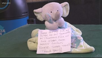 Lost toy mystery solved! Cleveland Indians find fan who left stuffed elephant at Progressive Field