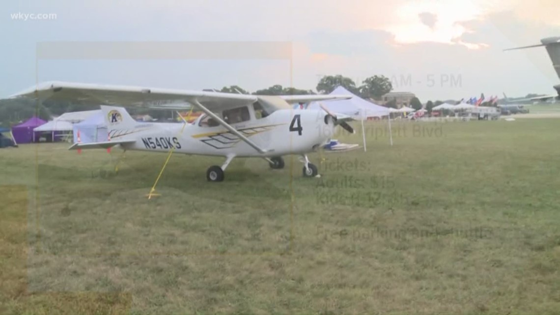 Props and Pistons Festival gives people opportunity to ride in the sky