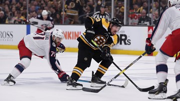 Nick Foligno: Blue Jackets 'had good chances, just couldn't bury them' against Bruins