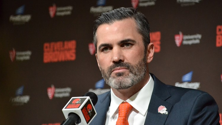 Kevin Stefanski Cleveland Browns new coach