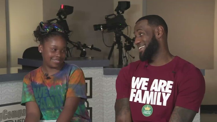 Akron sixth grader uses exposure from interview with LeBron James to launch business
