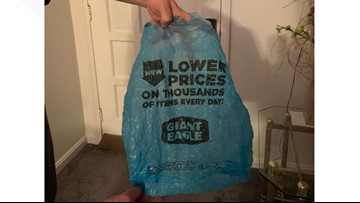 For $100, you could be the owner of a 'vintage' Giant Eagle plastic grocery bag