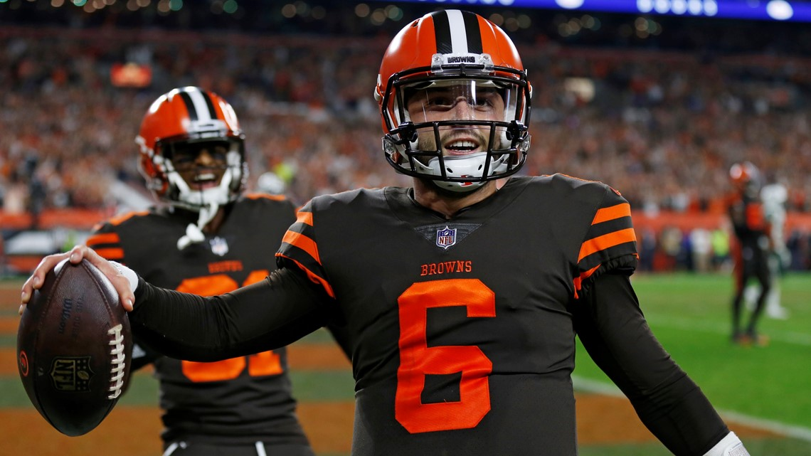 a7a00c5c Cleveland Browns fan looking for wedding present from Baker Mayfield:  Unblock me on social media.
