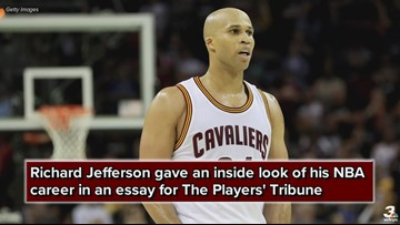 Former Cleveland Cavaliers forward Richard Jefferson: '100 years from now, people will still be talking about the 2016 Finals'