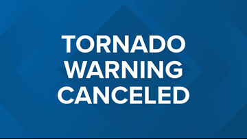 Tornado Warning canceled for Columbiana, Carroll counties